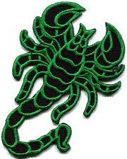 Scorpion tattoo Muay Thai applique iron-on patch S-234