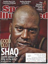 "Sports Illustrated 5/17/2010 ""Good Old Shaq"" Cleveland Cavaliers - Shaq O'Neal"