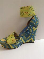 Theodora&Callum By STUART Weitzman size 6.5 US Platform ANKLE CLOURSE Sandal