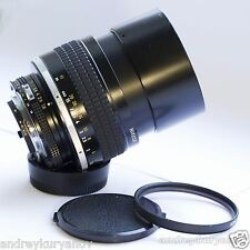 Nikon NIKKOR 105mm f/1.8 Ai-S with AF PRO programmable chip! Focus-trap!
