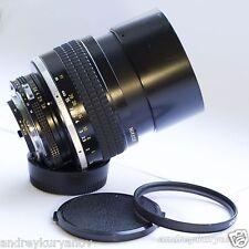 Nikon NIKKOR 105mm f/1.8 Ai-S with AF PRO programming chip full aperture control