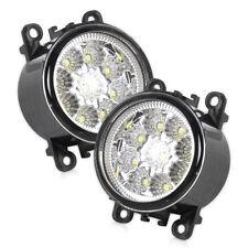 9LED Round Front Fog Lamp DRL Daytime Driving Lights for Ford Focus Honda Nissan