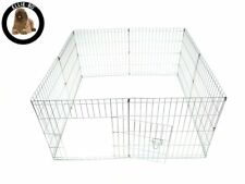 Ellie-Bo Easy Up 8 Piece Lightweight 61cm High Indoor/Outdoor Rabbit Puppy Pen