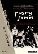 RUSTY JAMES / MATT DILLON - MICKEY ROURKE /*/ DVD NEUF/CELLO