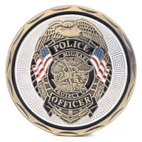 Michael Police Officer Badge Patron Saint Commemorative Challenge Coin Art Gifts