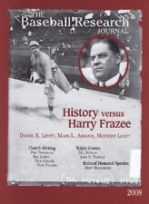 The Baseball Research Journal #37 (SABR) - 2008 Babe Ruth & Harry Frazee Cover