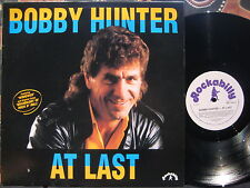 BOBBY HUNTER At Last 1991 Oz Rock'n Roll LP - Hunter Brothers, The Esquires