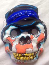 Halloween máscara de plástico monstruos adultos y niños Talla 21x16cm Nuevo