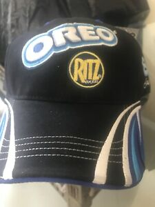 Dale Jr #8 Nascar Hat Oreo Ritz Racing Chase Authentic Blue And Black cap h1