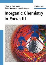Inorganic Chemistry in Focus III-ExLibrary