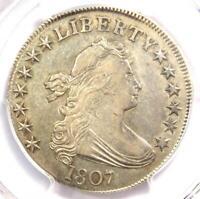 1807 Draped Bust Half Dollar 50C Coin O-104 - PCGS AU Details - Rare in AU!