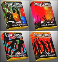 Funk Ultimate Groove Collection ALL Funk 1-4 Parts Included Ableton Logic Cubase