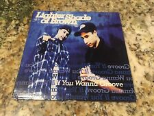 Lighter Shade of Brown - If You Wanna Groove Promo CD Single R&B Swing PolyGram