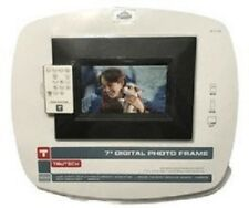 "Trutech 7"" Digital Photo Frame With Remote - New"