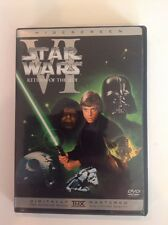 STAR WARS RETURN OF THE JEDI VI WIDESCREEN DVD OUT OF PRINT-Authentic US