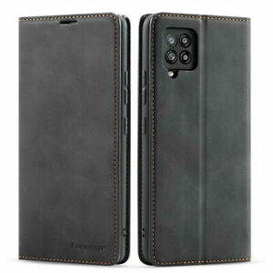 For Samsung Galaxy A72 A52 A42 A32 A12 Magnetic Flip Wallet Leather Case Cover