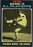 1971 Topps #197 Jim Palmer EX-EXMINT Baltimore Orioles FREE SHIPPING