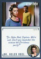 Star Trek TOS Archives & Inscriptions card #23 DR Helen Noel Var 1 out of 14