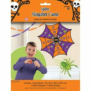 Amscsn Spider Slingshot Game Halloween Themed Party Game Birthday