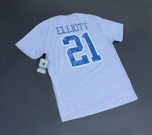 Ezekiel Elliott Dallas Cowboys Jersey T Shirt Gray (NWT Retail $32)