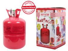 Helium Ballon-Gas Einweg ca. 50 Luftballons 0,42 qm³ Folienballons Heliumflasche