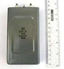 1pcs 1uF 3kv K75-15 Big Hybrid PIO COIL Capacitors PAPER IN OIL PIO #603