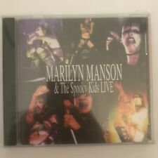Marilyn manson & the spooky kid's live cd 8 titres neuf sous blister