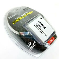 Bower Digital Camera Battery NB-6L Canon D10 PC1355 S90 S95 SX240 SX260 SD770