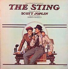MARVIN HAMLISH THE STING OST SCOTT JOPLIN LP 1974 THE ENTERTAINER EXC!!!
