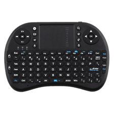 Handheld 2.4G Mini Wireless Keyboard with Mouse Touchpad for PC Notebook Black