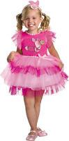 Morris Costume Girls Sleeveless Frilly Piglet Winnie Pooh Costume 3-4T. DG25645M