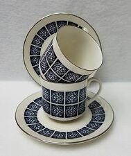 ROYAL DOULTON china MEDALLION  TC1077 cups & saucers SET OF 2!!!