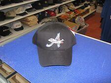 MiLb-Aberdeen Ironbirds-Black Cap With Team Logo-Hook & Loop Adjustable W/ Tags