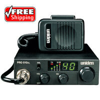 40 Channel Mobile CB Radio Eliminate Noise Compact Hunting Car Truck Boat Marine