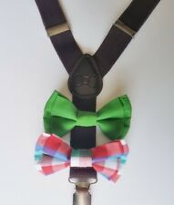 Suspenders And Bow Tie