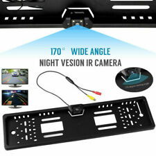 170° Car Rear View Reversing HD Camera Backup Parking Plate Cam Waterproof  New