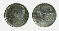 s646_45) Vittorio Emanuele III (1900-1943) - 50 cent Leoni 1924 RIG - DIFETTI