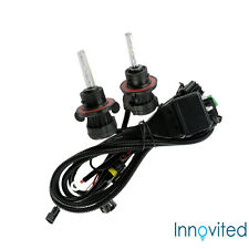 Innovited 35W HID H13 9008 5000K Bi xenon Hi/Lo Replacement Bulbs With Harness