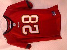 Reebok Women's Premier NFL Jersey Buccaneers Derrick Ward Red sz L