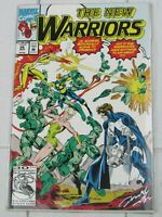 The New Warriors #26 (Aug 1992, Marvel) Signed Bagged and Boarded - C2764