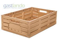 1 Stk Gemüse- Kartoffelkiste Gemüsekiste Holzdesign 600 x 400 x 165 mm Gastlando