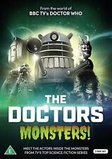 THE DOCTORS: MONSTERS! - Seventh TV Doctor Who Sylvester McCoy - NEW 2x DVD