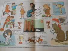 Concours du Million Jeux charmants dessins  Print 1928