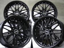 "18"" M BLACK 190 ALLOY WHEELS FITS MERCEDES S CLASS KLASS SL SLK SLC"