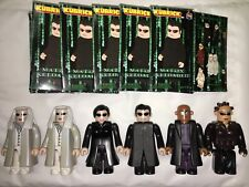 "6 x Kubrick/'The Matrix' - 3"" Figures - Medicom - Inc. Neo, Trinity & The Twins."