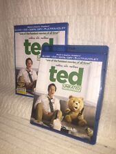 Ted w/Slipcover (Blu-ray + DVD, 2012, 2-Disc Set, Unrated)