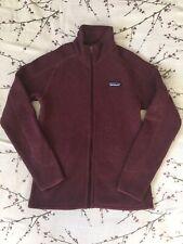 Patagonia Better Sweater Fleece Jacket, Size XS, Burgundy