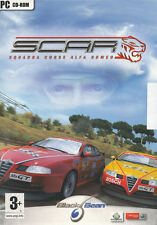 SCAR Squadra Corse ALFA ROMEO Racing PC Game NEW in BOX