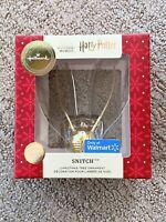 2020 Hallmark Harry Potter Golden Snitch Premium Ornament Walmart Exclusive New