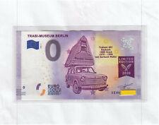 Berlin - XEAK 2020-1 - TRABI - Museum - EDITION 2020 - 0 Euroschein Souvenir